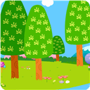 美丽的林间