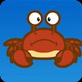 虾蟹为什么煮熟后会变红色