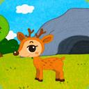 聰明伶俐的小鹿