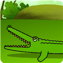 鱷魚簡筆畫