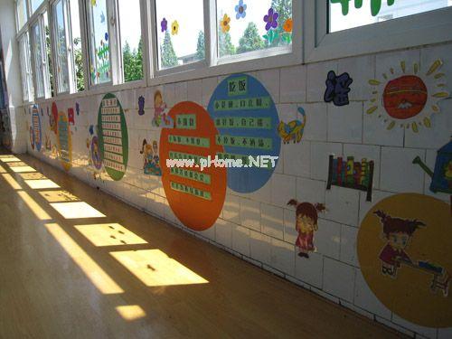 小太阳幼儿园楼道环境布置欣赏