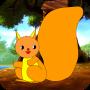 小松鼠的尾巴
