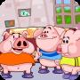 三只小豬去游樂場(量的比較)
