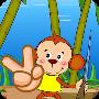 小猴打椰子