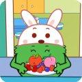 咕力儿歌:小白兔请客