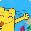 咕力儿歌:鱼儿水中游